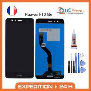 Ecran lcd + vitre tactile Huawei P10 lite Original + colle + outils
