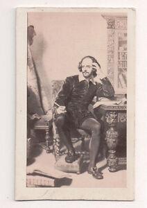 Vintage-CDV-Album-Filler-William-Shakespeare-English-Playwrite