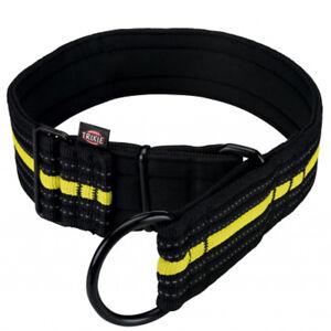 TRIXIE-Fusion-Sporting-Zug-Stopp-Halsband-extra-breit-Hundehalsband-Halsband