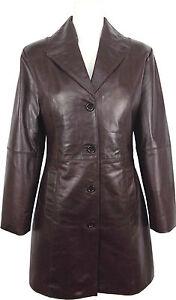 UNICORN Mujeres Encuadre de tres cuartos Real cuero chaqueta ...
