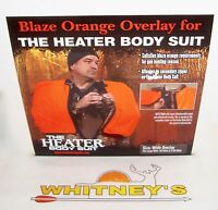 The Heater Body Suit Orange Wide Overlay Zipper Fits Lg/tw/xtw Model 402-z