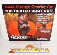 The Heater Body Suit Orange Wide Overlay Zipper Fits Lg/tw/xtw Model 402-z
