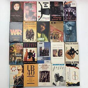 20 Cassette Single Tape Lot R&B Rap Pop Rock