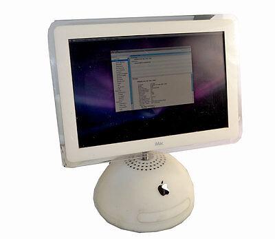 VINTAGE Apple iMac G4/1.25 17-Inch USB 2.0 M9168LL/A 1.25Ghz 512MB DDR 80GB HDD
