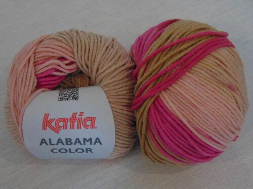 100g//6,58 € Alabama color-Katia 50g-Garn-lana