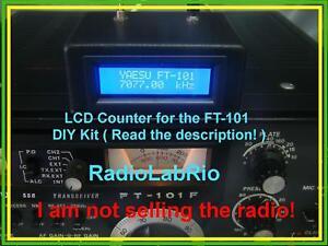 Yaesu-FT-101-B-E-F-LCD-Digital-Display-Unit-Frequency-Counter-AM-CW-SSB-HF-Radio