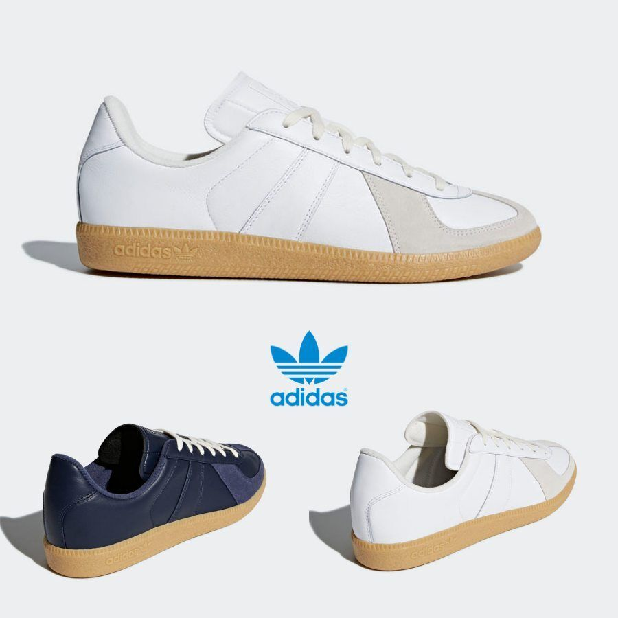 231e705a0 Adidas Original BW Army Leather Shoes White Navy CQ2755 CQ2756 SZ 4 ...