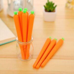 Cute-Carrot-Shaped-New-Stationery-Neutral-Pen-School-Office-Supply-Gel-Pen