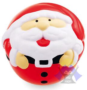 PALLINA-Anti-STRESS-di-BABBO-NATALE-Relax-TEMA-NATALIZIO-Gioco-PALLA-Christmas