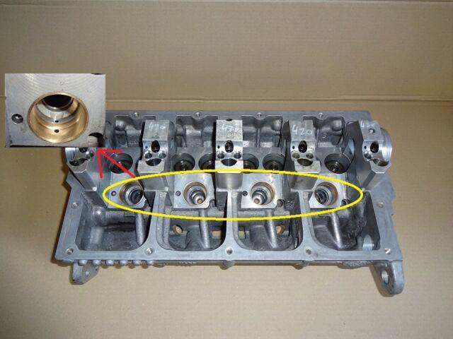Zylinderkopf PD 2.0 1.9 TDI 038103373R V420 Pumpedüse Führungen Generalüberholt