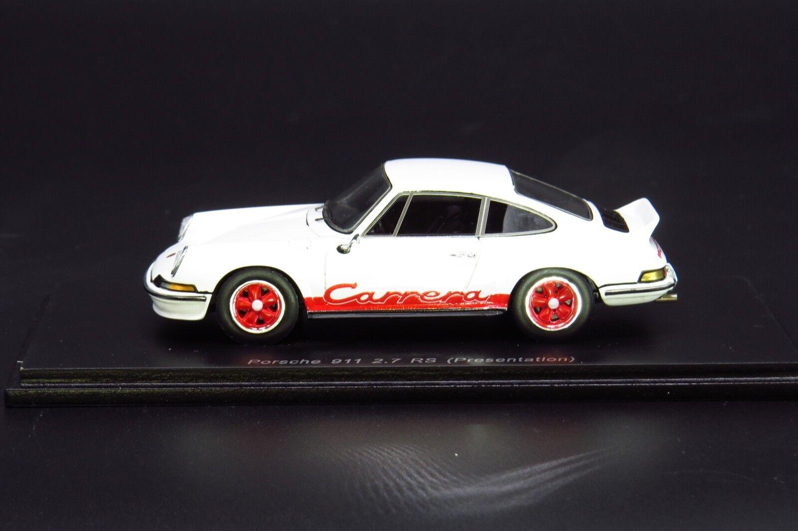 Porsche 911 2.7 RS bianca Spark S4467 1:43