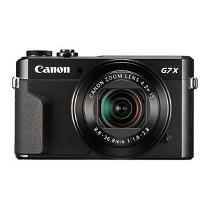 Canon PowerShot G7x Mark II 20.1MP Digital Camera 4.2x Optical Zoom ... 1287732e7e112