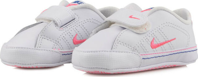 f0e85d58bd15a1 Infant Pink and White Girls Nike Trainers Size 2c UK 1.5 for sale ...