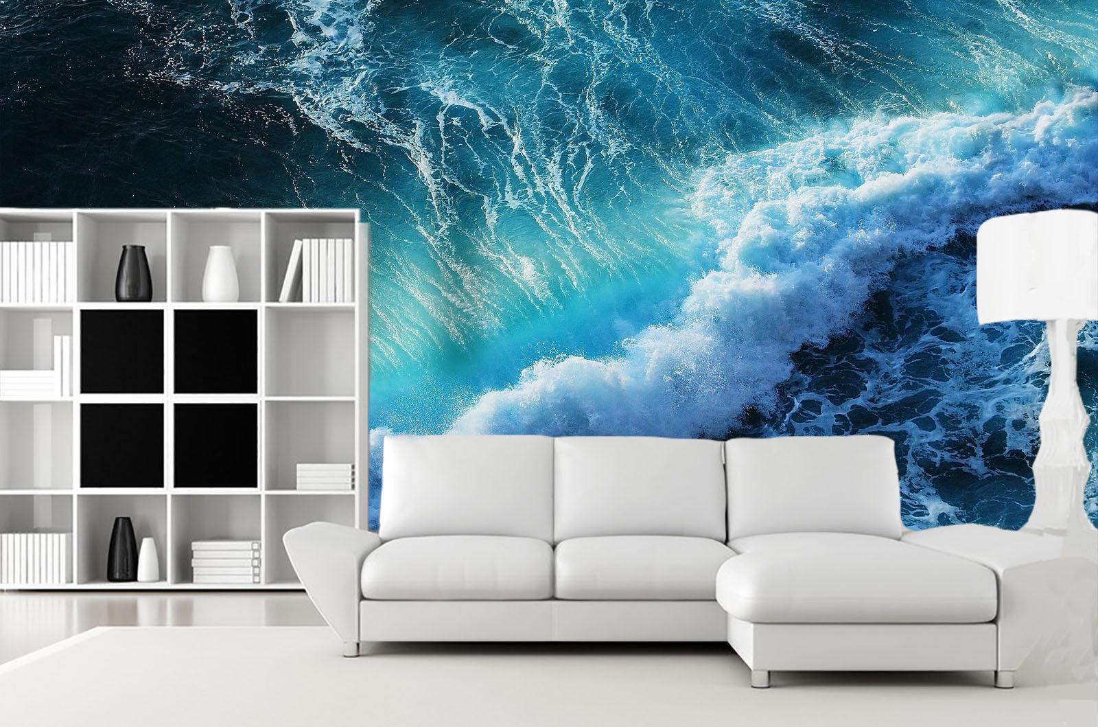 3D Sturmwellen 963 Well Tapete Wandgemälde Tapete Tapeten Bild Familie DE Summer  | Erste Qualität  | Günstigstes  | Langfristiger Ruf