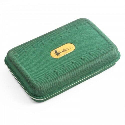 Lightweight Green Foam Fishing Fly Box Slot foam Trout Fly Box