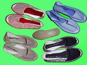 Zapatos-de-Lona-Alpargatas-con-Suela-Completa-Goma-Mocasines-Verano-T-Gr-36-41