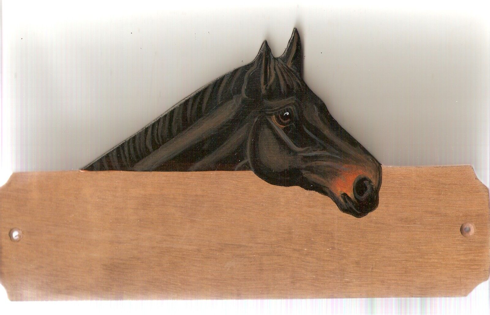 TB thgoldughbred  horse stable stall barn name plate plaque sign personalised gift  cheap