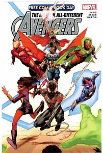 All New All Different Avengers #1 2015 Marvel Free Comic Book Day