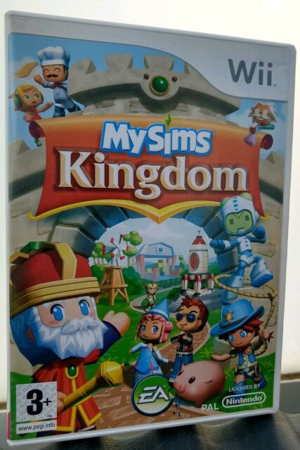 Jeu My Sims Kingdom pour Nintendo Wii - Complet VF