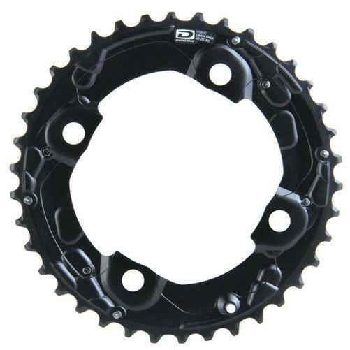 LX T671 24T X 64MM 10-SPEED BLACK BICYCLE CHAINRING SHIMANO SLX M660-10