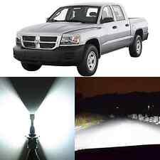 Alla Lighting Headlight 9007 White 12V LED Conversion Kit for 97~04 Dodge Dakota