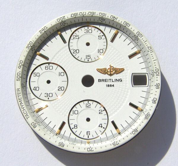 2019 Neuestes Design Breitling Chronomat B13050.1 Weisses Zifferblatt White Dial Esfera Blanca I119