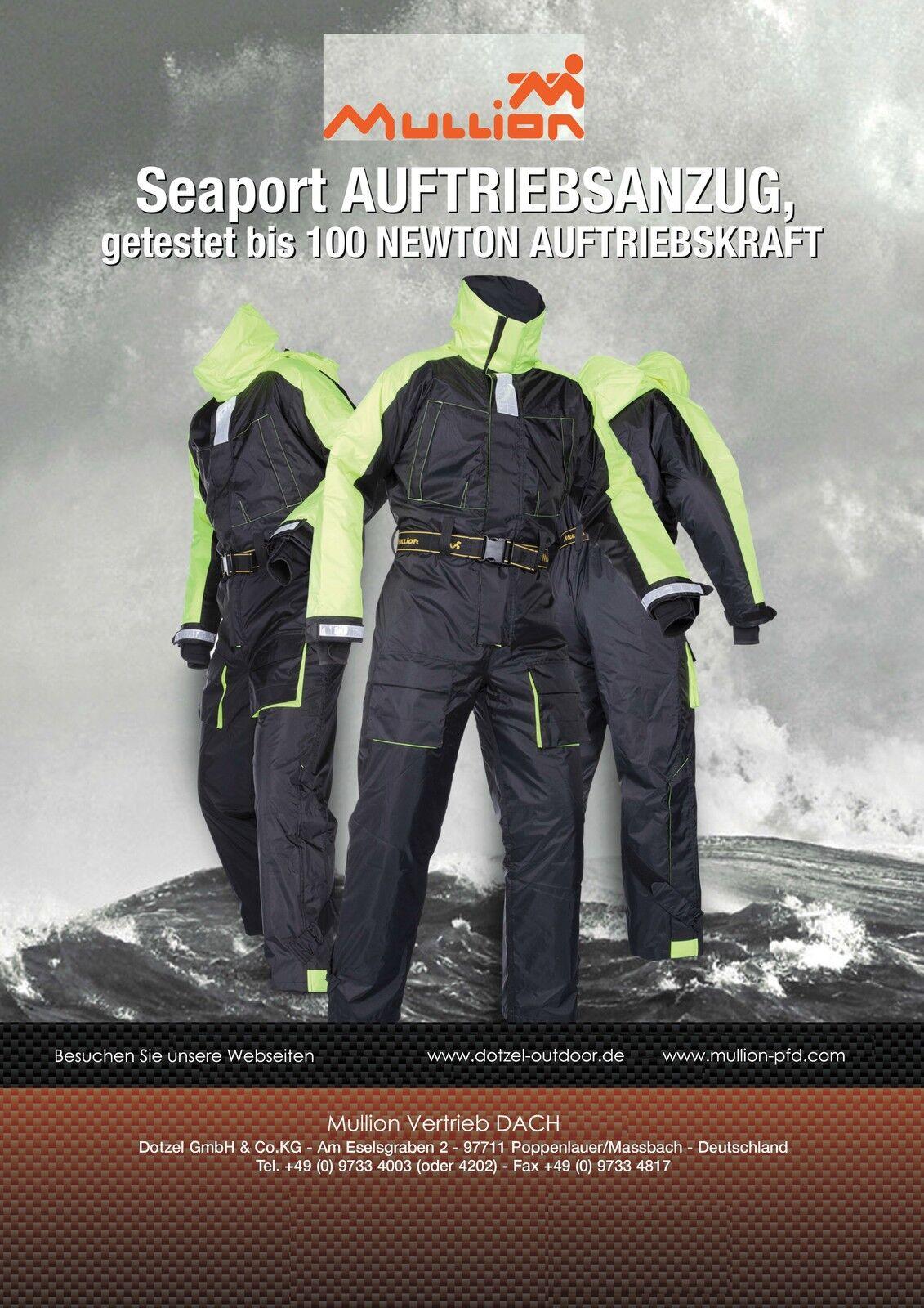 Schwimmanzug, Floatinganzug MULLION  Seaport  1MHE - Überlebensanzug, Floater