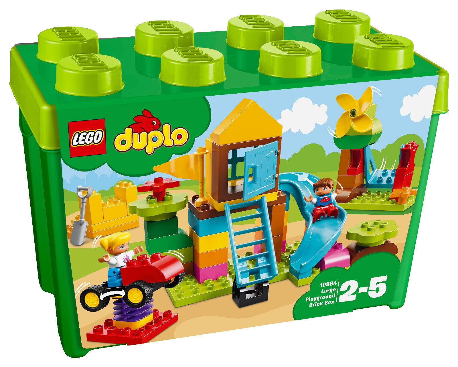 LEGO® Duplo® (10864) Steinebox mit großem Spielplatz inkl Versand NEU&OVP