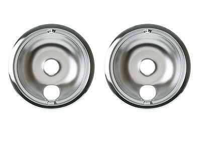2 Stove 8 Inch Drip Pan For Ge Hotpoint Kenmore