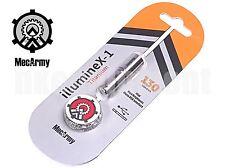 MecArmy illumineX-1 CREE USB Rechargeable Necklace Flashlight Titanium S