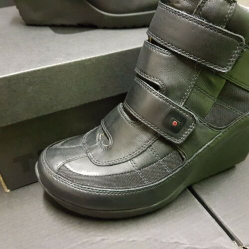 Shoes Rrp 5 Us Women's 6 Compensé Tsubo 37 Cuir 5 Uk 5 Eu Boots 179€ Peary Strap FZxwqYC