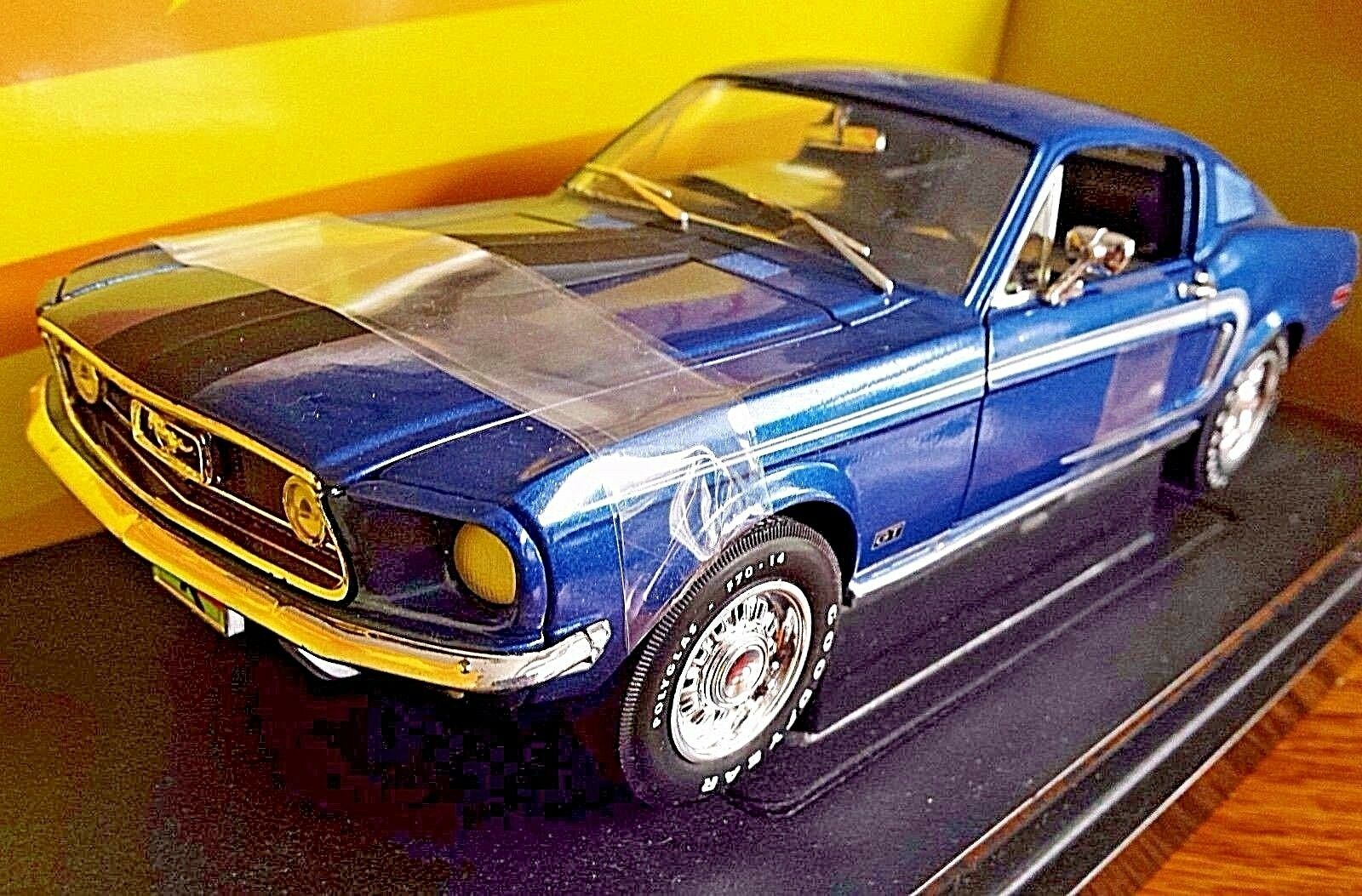 American Muscle John Force 1968 Mustang CJ 428 428 428 1 18 scale die cast Ertl 6766eb