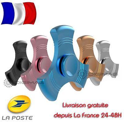 Hand Spinner Tri Fidget Finger Métal Aluminium #17 EDC ADHD Jouet Anti-stress 3D