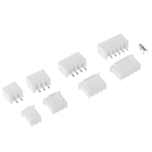 1Box JST-XH Kit 2//3//4//5Pin XH2.54MM Terminal Housing PCB Header Wire ConnecHFUK