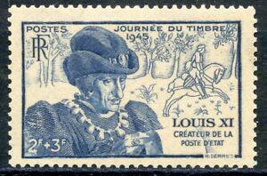 Timbre France Neuf N° 743 ** Journee Du Timbre Louix Xi Marchandises De Proximité