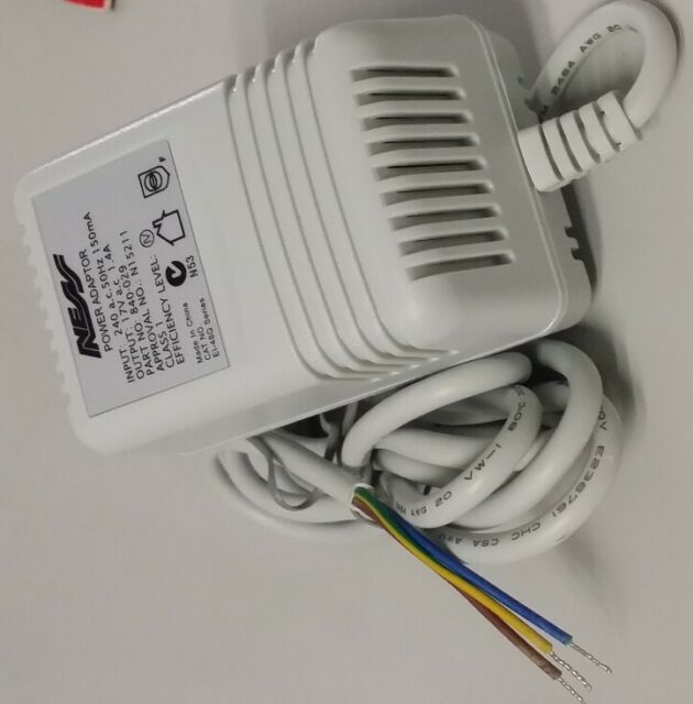 Ness Alarm System Power Supply (Plug Pack ) - 17volt AC 1.4Amp + Earth