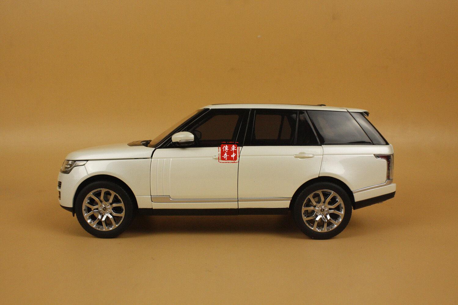 18 gt - autos von land rover range rover mit weißer farbe + geschenk