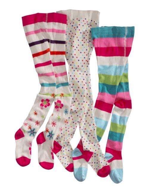 wellyou strumpfhose baby kinder 3er set weiss rot rosa blau grün 62 bis 146 neu