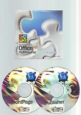 MICROSOFT OFFICE XP SPECIAL EDITION - FRONTPAGE & PUBLISHER - VERSION 2002 - VGC