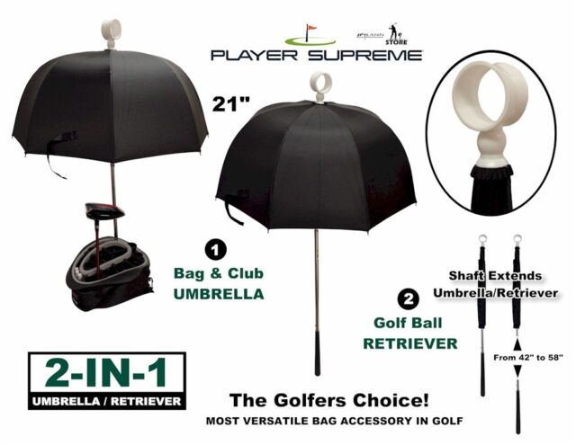 Golf Bag Umbrella and Retriever (10875)