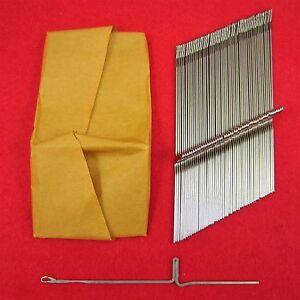 NEU-100-Nadeln-fuer-Brother-Strickmaschinen-KH552-800-Knitting-Machine-Needles
