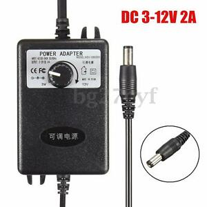 Adjustable-AC-DC-Adapter-3-12V-2A-Power-Supply-Motor-Speed-Controller-100-240V