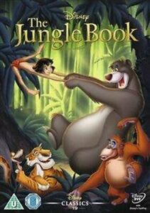 DVD  -  THE JUNGLE BOOK  (1967)  DISNEY   (NEW / NIEUW SEALED)