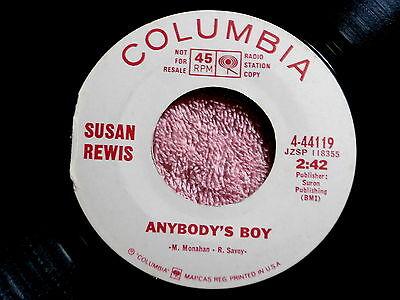 Susan Rewis Anybody S Boy Near Mint Don T Think Twice It S