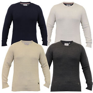 Mens-Knitted-Sweater-Pullover-Jumpers-By-Brave-Soul