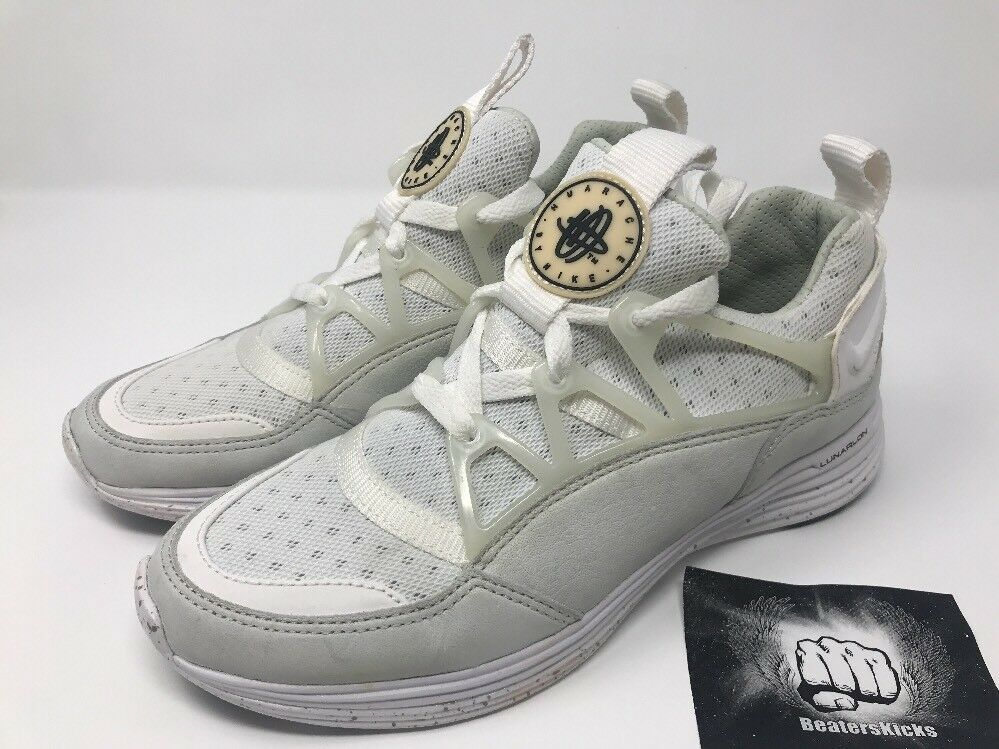 The latest discount shoes for men and women Nike Lunar Huarache Light Nikelab Lab Tier Zero White 776373-110 Comfortable