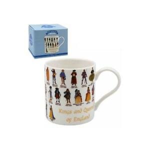 Educational-Mugs-KINGS-AND-QUEENS-OF-ENGLAND-United-Kingdom-Collectible-Mug