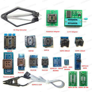 Details about SOP to PLCC 18 Universal Programmer Adapter Sockets for TL866  RT809H