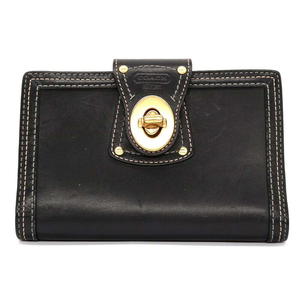 COACH wallet leather from japan