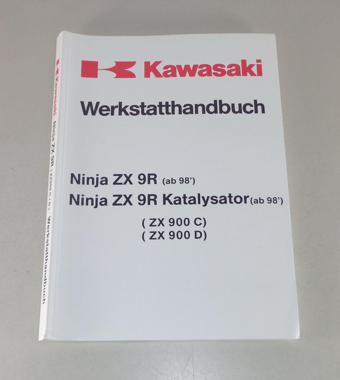 Manual Workshop Manual Kawasaki Ninja Zx 9 R Von 98 Workshop